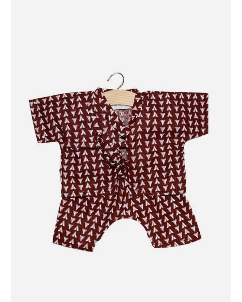 Minikane poppenkleertjes kimono nico ethnick