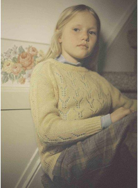 Repose knit sweater - pale yellow