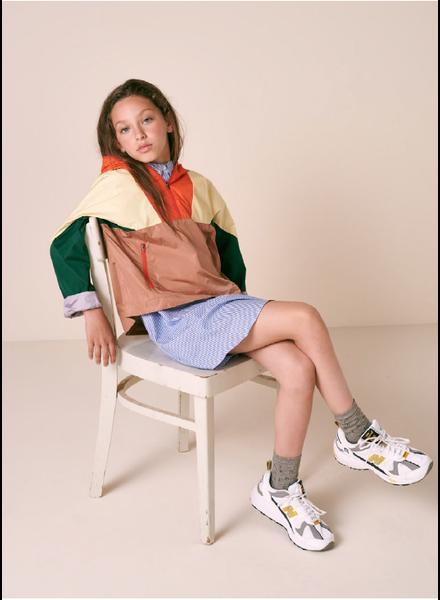 Bellerose hoodie jacket - orange