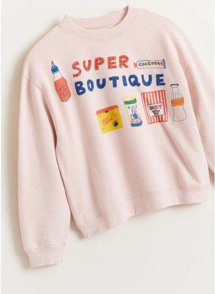 Bellerose fiba sweatshirt - cotton candy
