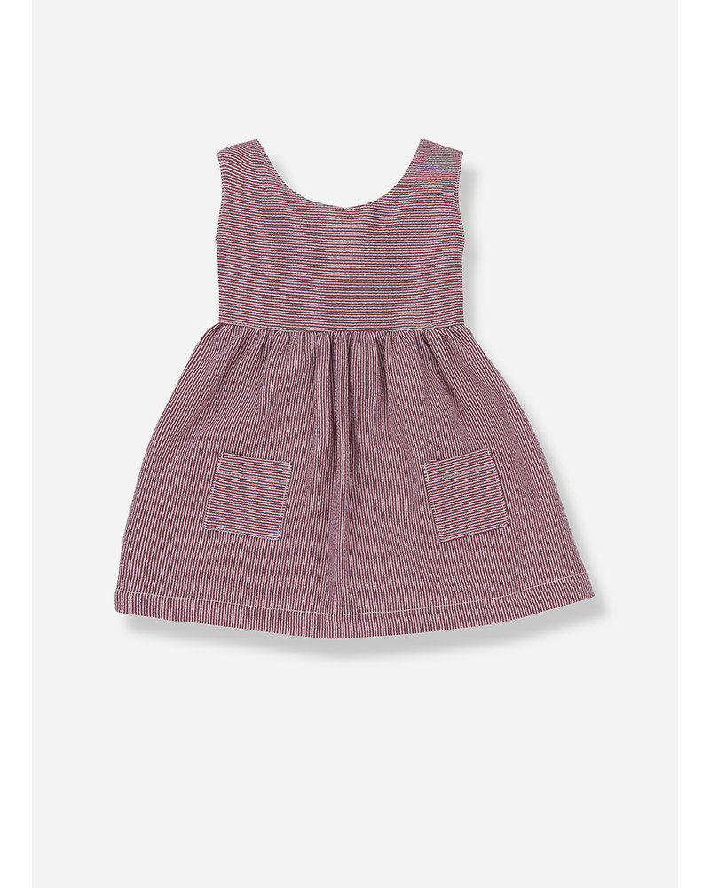 1+ In The Family pompeya dress - red