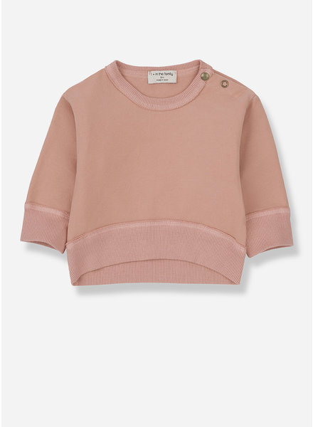 1+ In The Family siracusa sweatshirt - rose