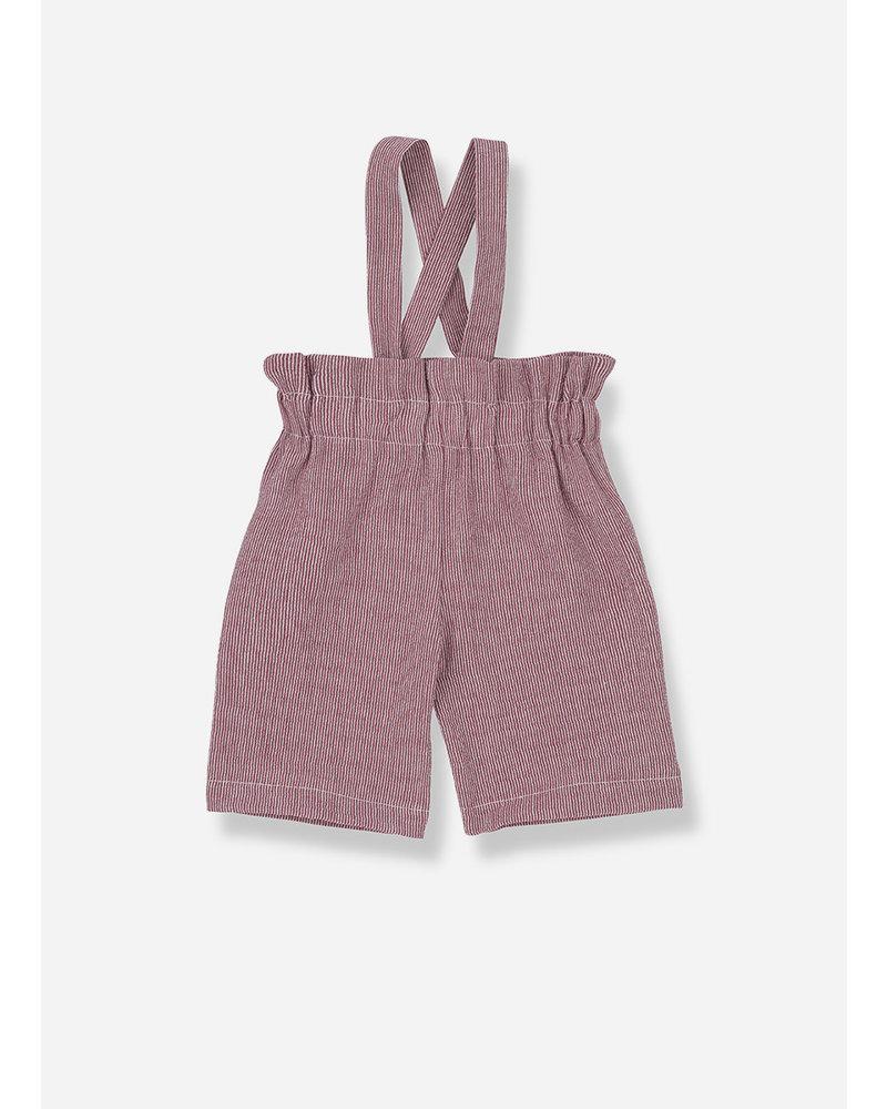 1+ In The Family capri girly pants - red