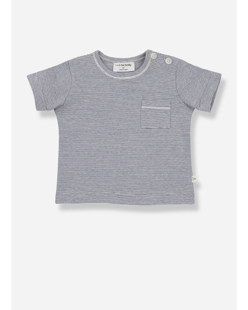 1+ In The Family cadaques short sleeve t-shirt - azzurro
