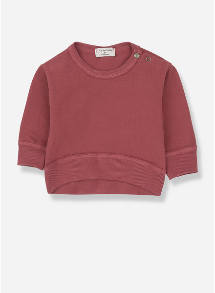 1+ In The Family siracusa sweatshirt - red