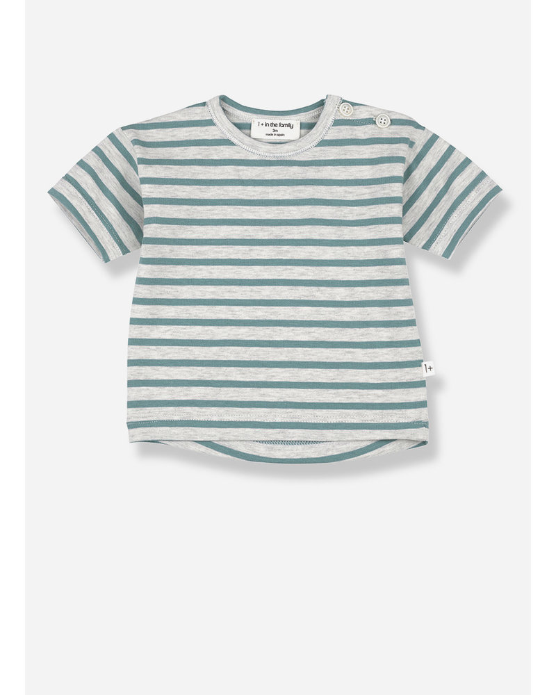 1+ In The Family vence short sleeve t-shirt - mint