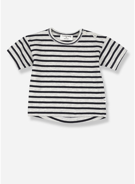 1+ In The Family vence short sleeve t-shirt - blue notte