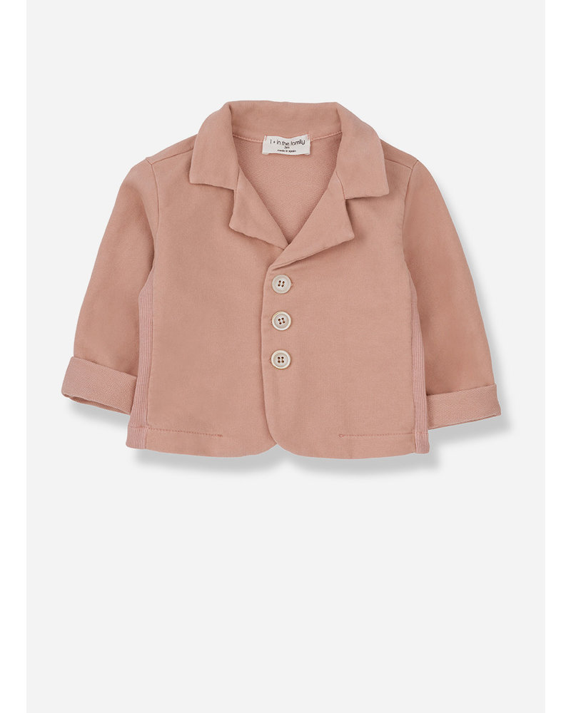 1+ In The Family castro jacket - rose