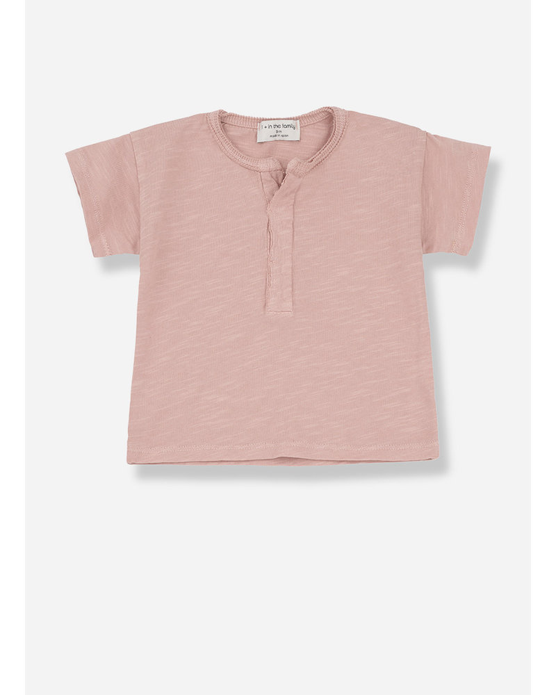 1+ In The Family padua s.sleeve t-shirt - rose
