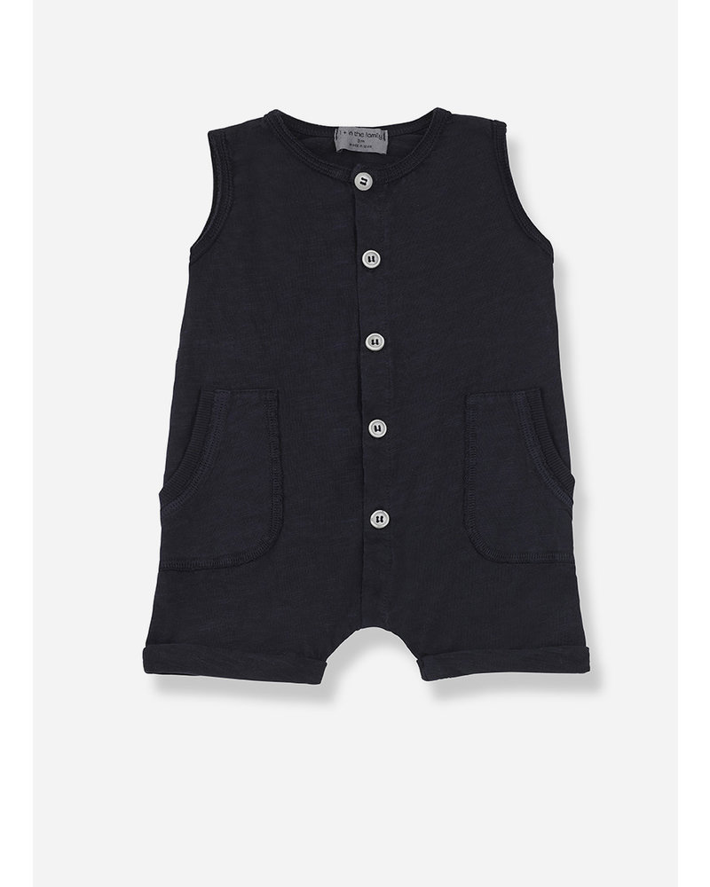 1+ In The Family troia romper - blue notte