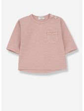 1+ In The Family travi long sleeve t-shirt - rose