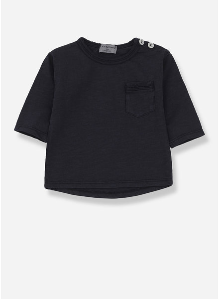 1+ In The Family travi long sleeve t-shirt - blue notte