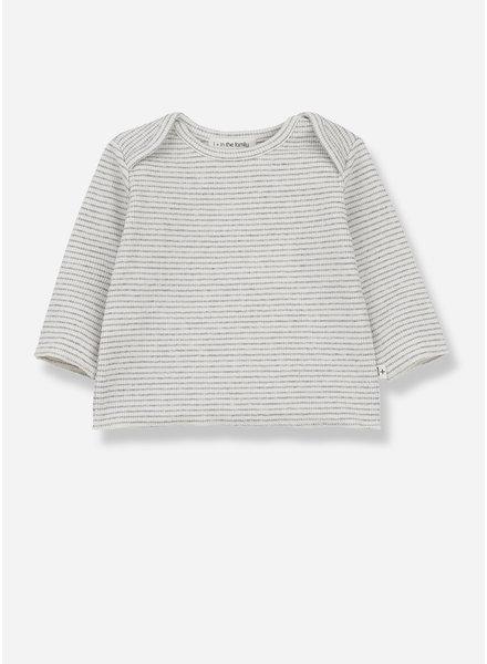 1+ In The Family norma long sleeve t-shirt - ecru