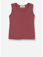 1+ In The Family lea sleeveless top - red