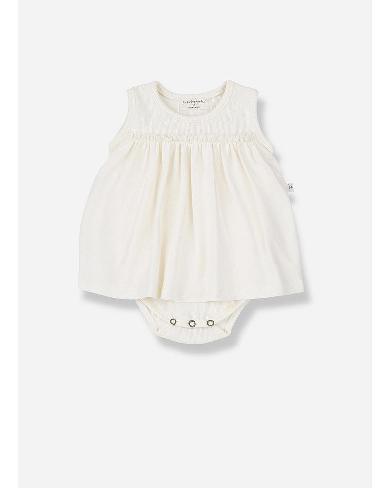 1+ In The Family sybilla body dress ecru