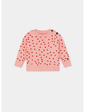 Bobo Choses dots knitted jumper