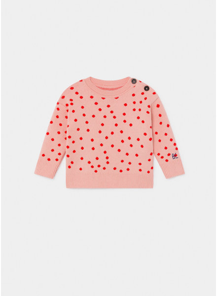 Bobo Choses dots knitted jumper