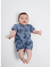 Bobo Choses all over pineapple playsuit