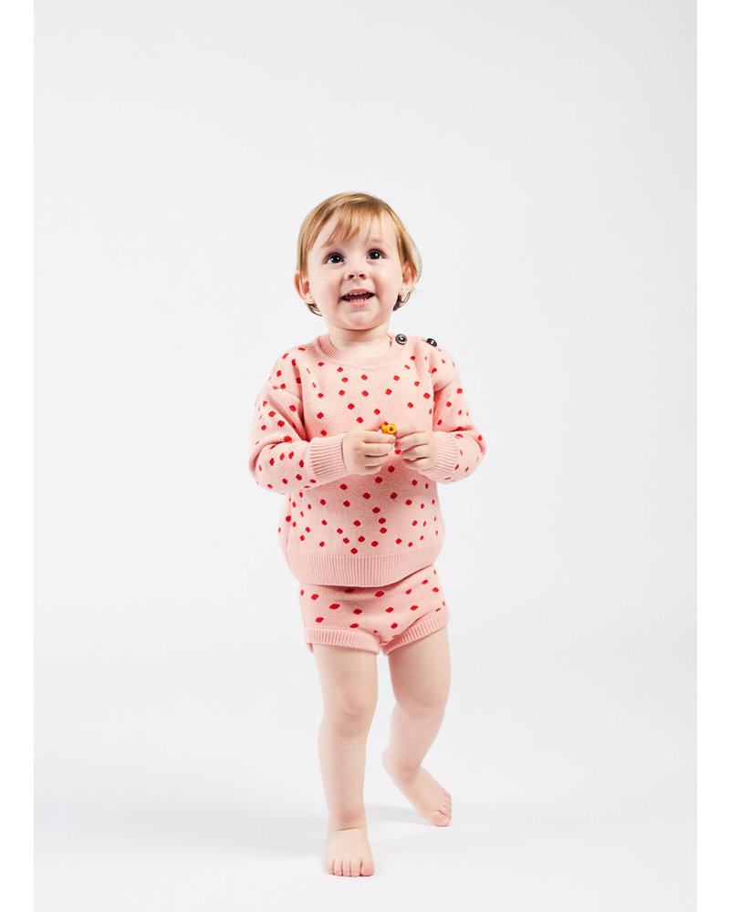 Bobo Choses dots knitted culotte