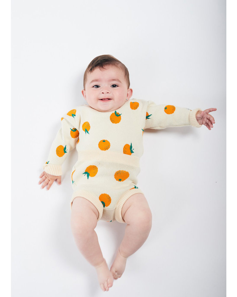 Bobo Choses oranges knitted culotte