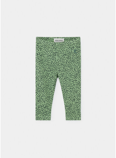 Bobo Choses all over leopard green legging
