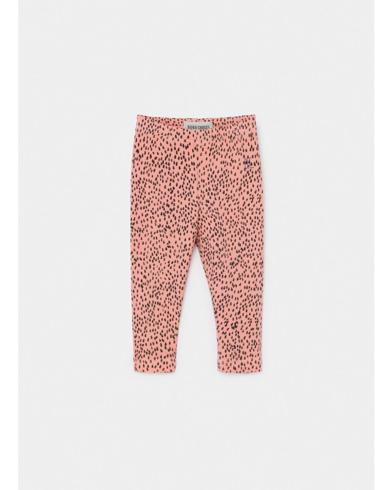 Bobo Choses all over leopard pink legging