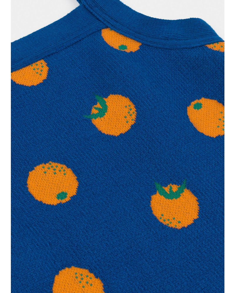 Bobo Choses oranges knitted tank top