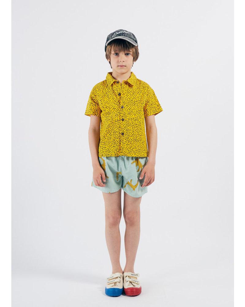 Bobo Choses all over leopard shirt