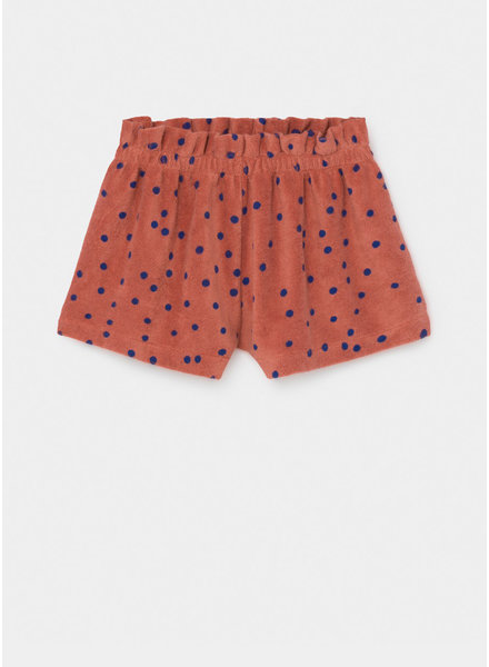 Bobo Choses dots terry towel shorts