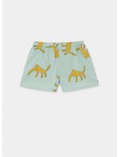 Bobo Choses leopard woven shorts