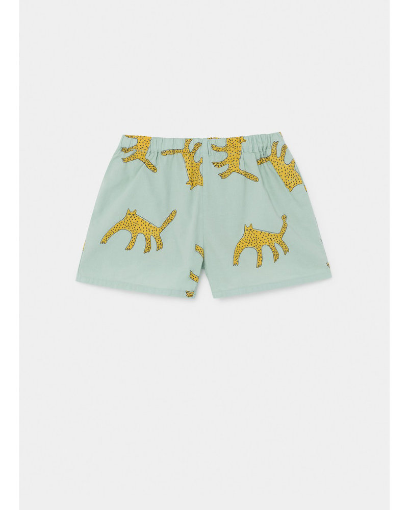 Bobo Choses leopard woven shorts