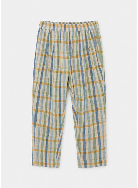 Bobo Choses checker baggy trousers