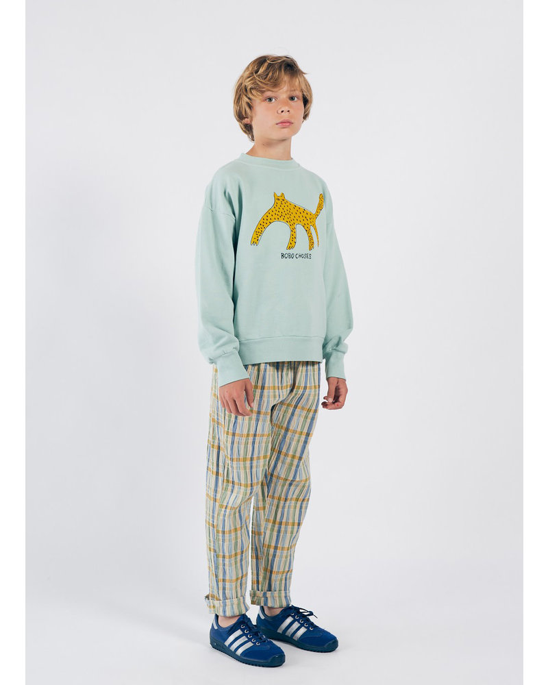 Bobo Choses checker baggy trousers