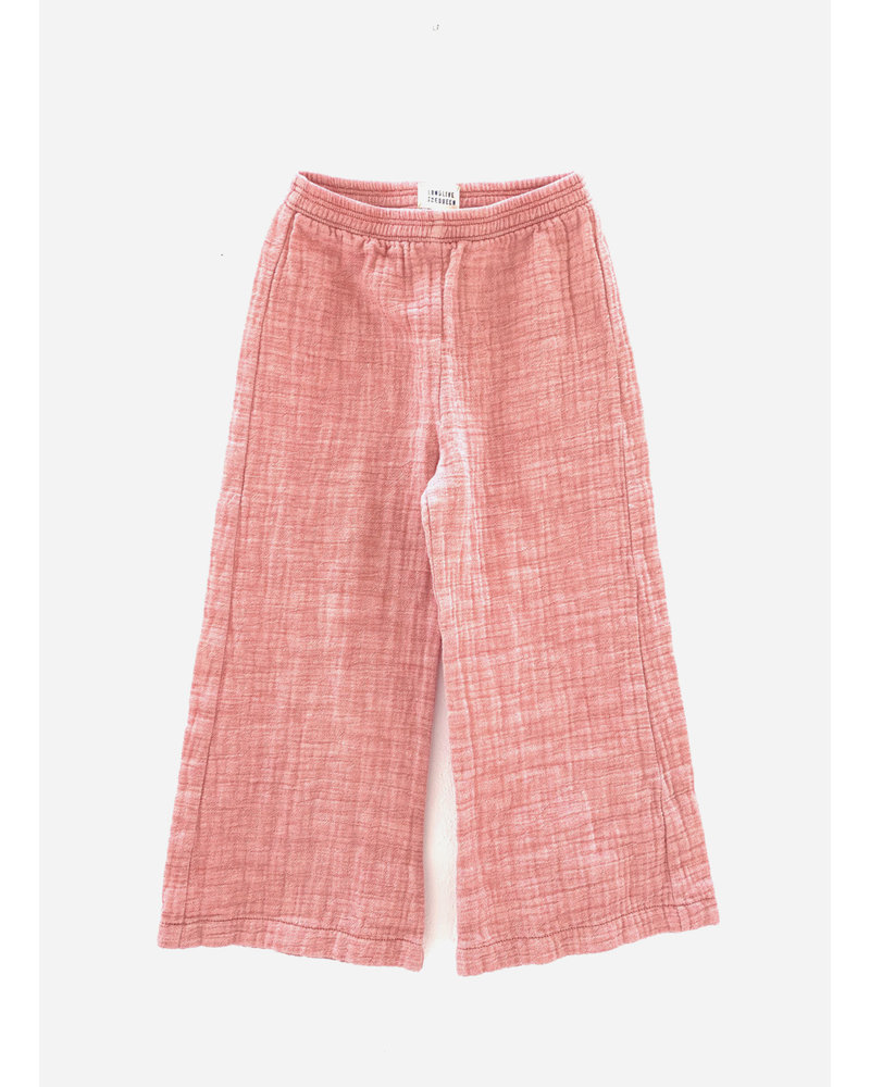 Long Live The Queen crinkle pants 416 red