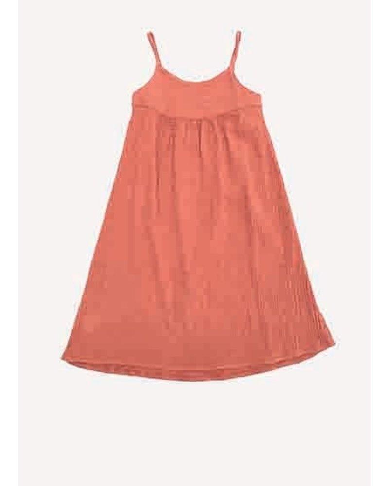 Long Live The Queen crinkle summer dress 412 orange