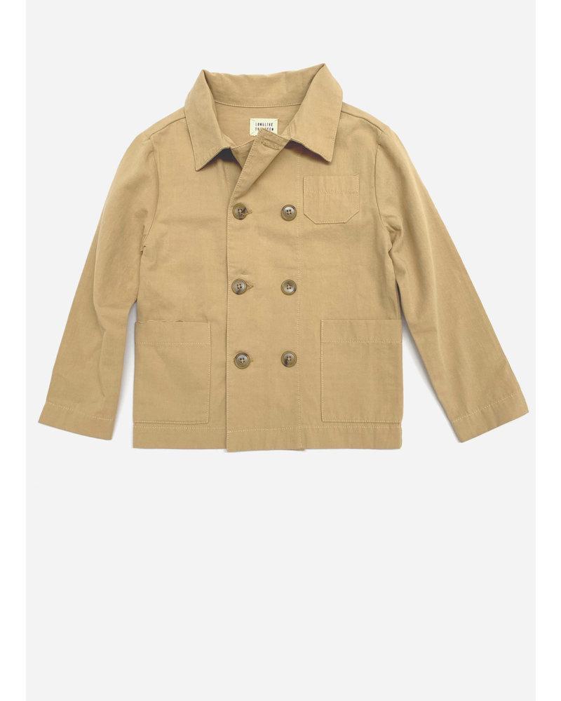 Long Live The Queen worker jacket 473 beige canvas