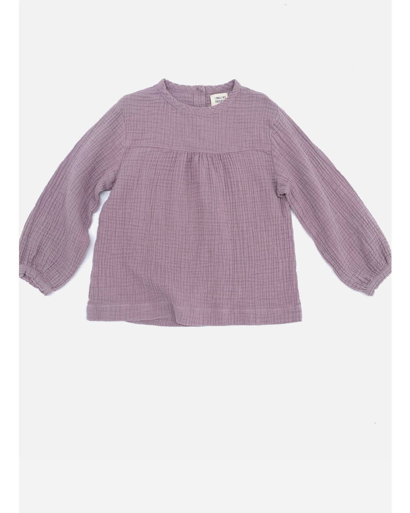 Long Live The Queen crinkle blouse 410 lavender
