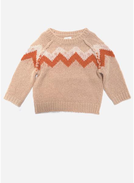Long Live The Queen zig zag sweater 403