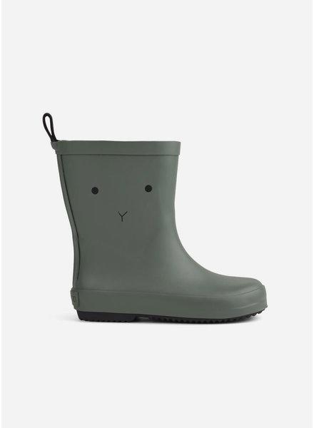 Liewood rio rain boot faune green