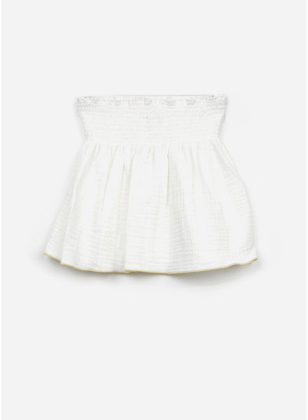 Club Cinq bella skirt off white gold