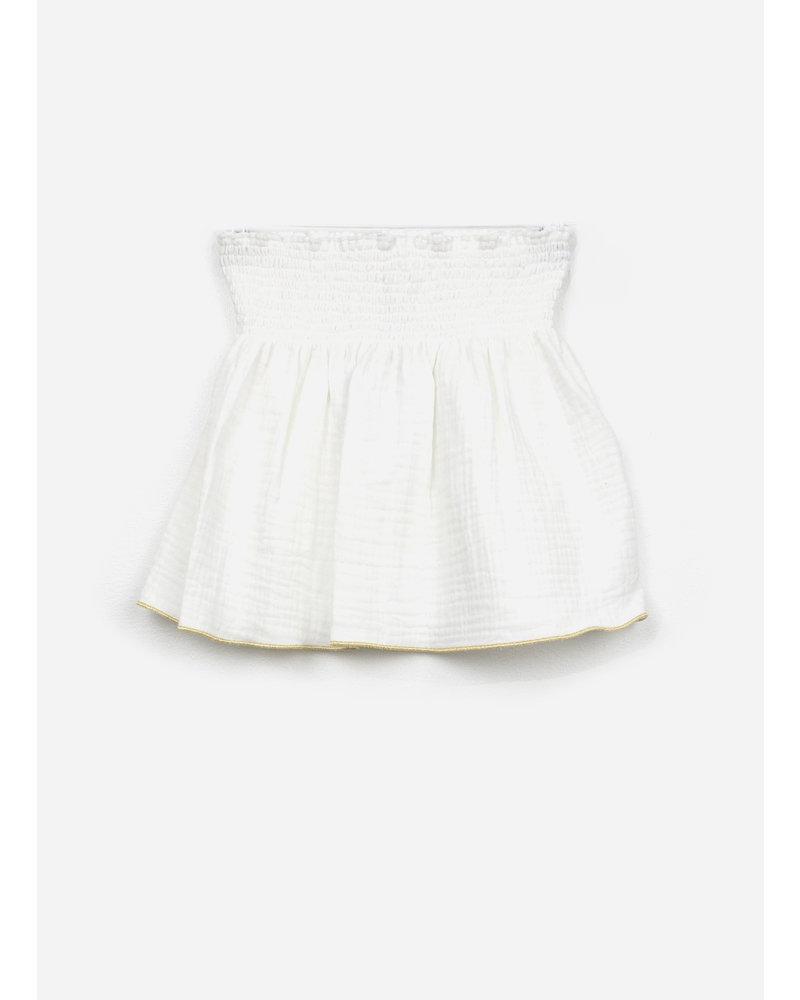 Club Cinq bella skirt off white gold