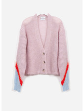 Indee guapa mohair cardigan - blush