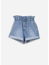 Indee garfield denim shorts - denim