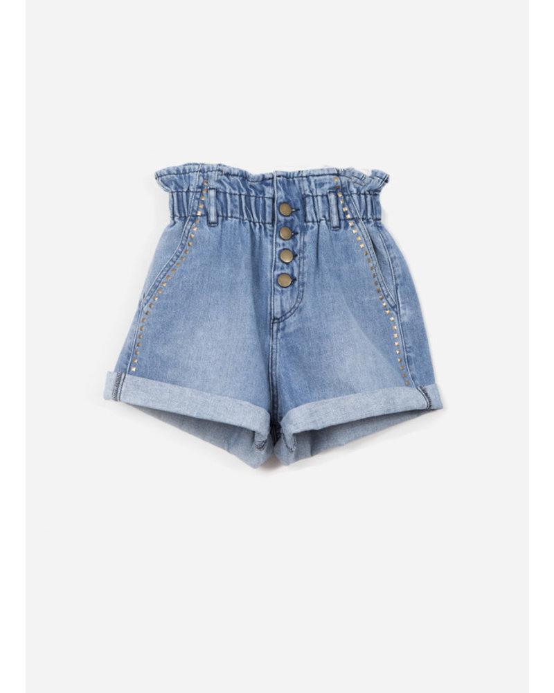 Indee garfield denim shorts - denim