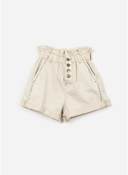 Indee garfield denim shorts - ice
