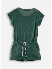 Finger in the nose aileen green khaki jumpsuit