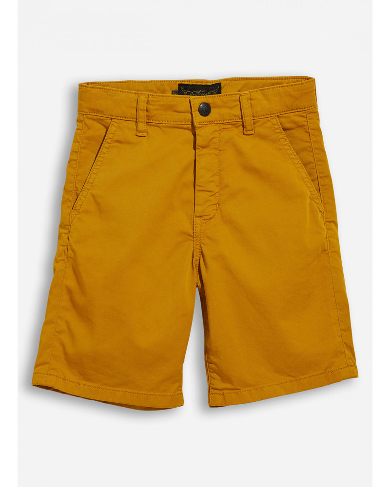 Finger in the nose birdman old mustard chino bermuda shorts