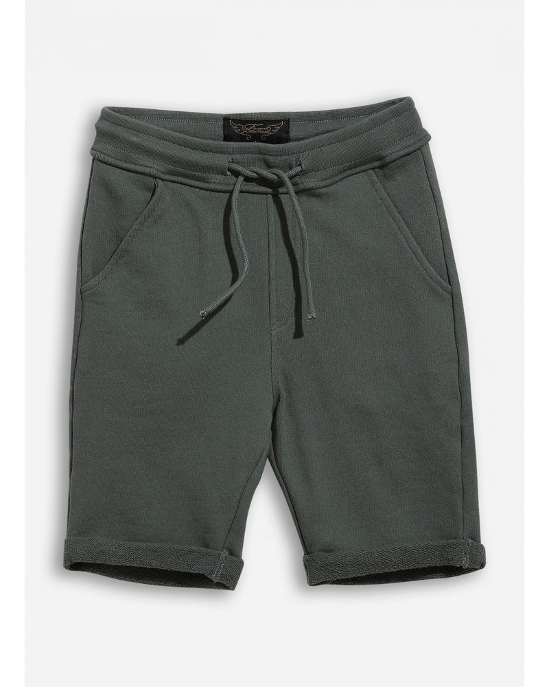 Finger in the nose new grounded green khaki bermudas