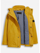 Finger in the nose zephyr mustard hooded jacket
