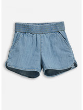 Finger in the nose holiday bleached blue shorts